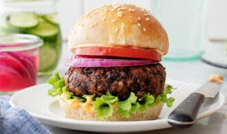 Black Bean Burger for Flavored Summer Dinners: What to Cook (July 20)