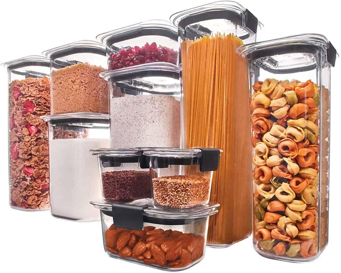 Pantry Organization: Food Storage