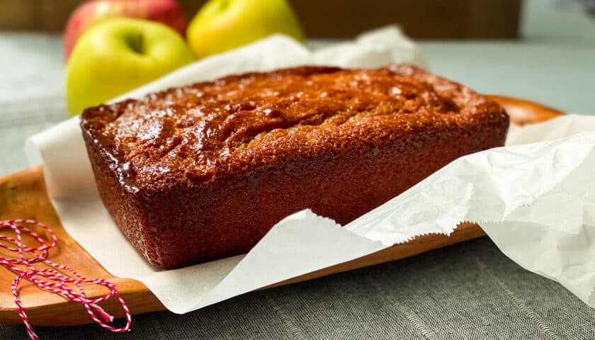 Apple Spice Visiting Cake