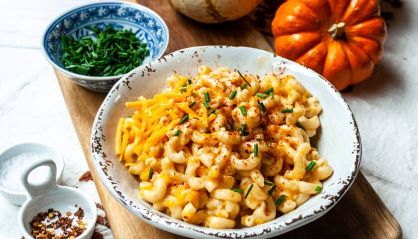 Instant Pot Butternut Squash Mac and Cheese