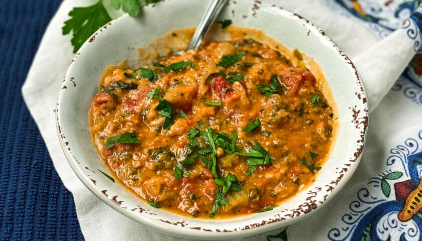 Instant Pot Lentil Soup with Sausage and Spinach