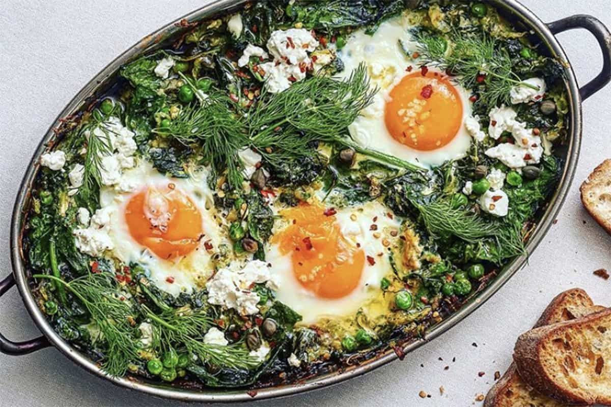 Green Shakshuka for Easy October Savory Dinners: What to Cook (Oct 26)
