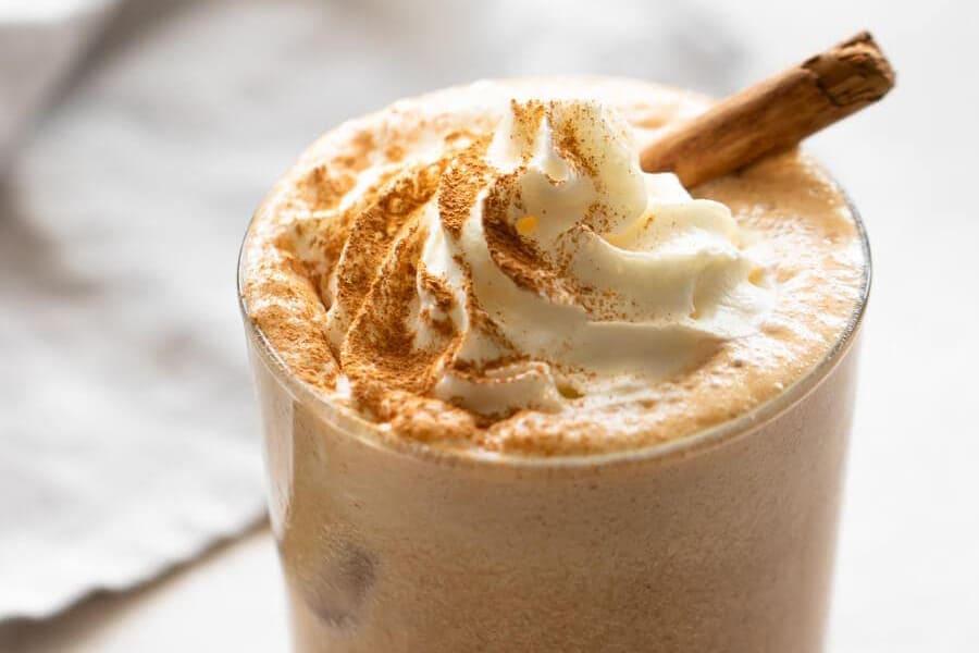 Iced Pumpkin Spiced Latte for Pumpkin Recipes