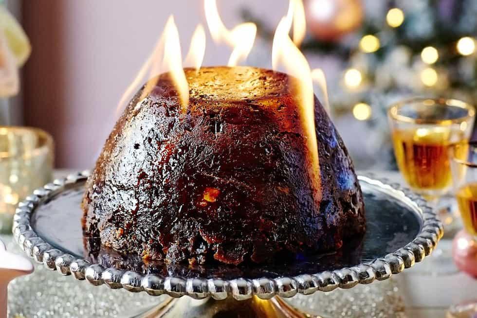 Christmas Pudding Cake for Stir-Up Sunday Recipes