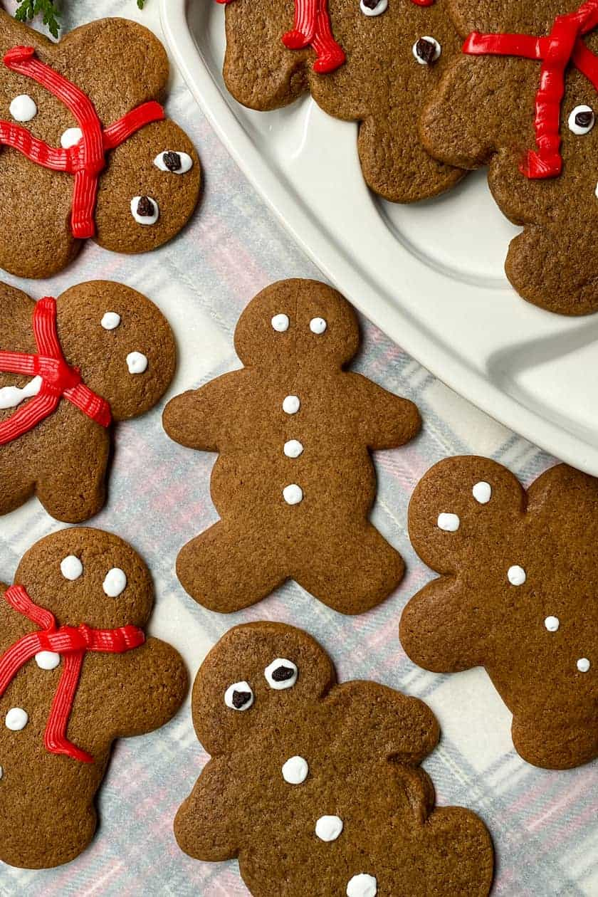 Gingerbread Cookie Shapes