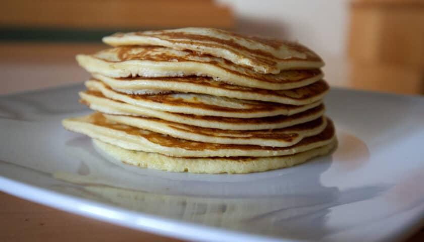 Healthy Banana Protein Pancakes