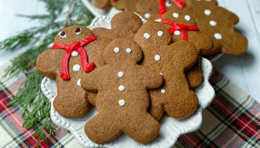 Gingerbread Cookies: German Inspired
