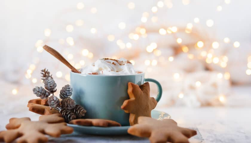 Gingerbread Latte: At Home