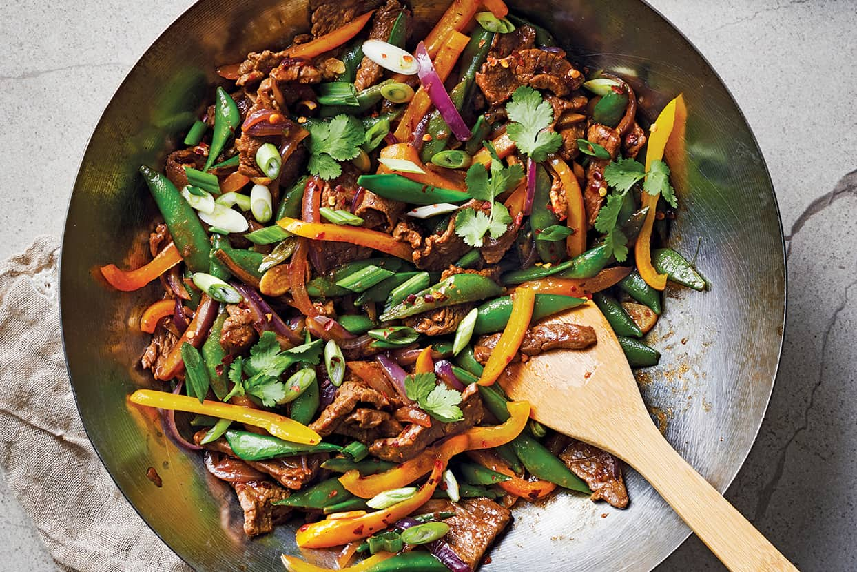Steak Stir Fry for 400 Calorie Dinners: What to Cook (Jan 4)