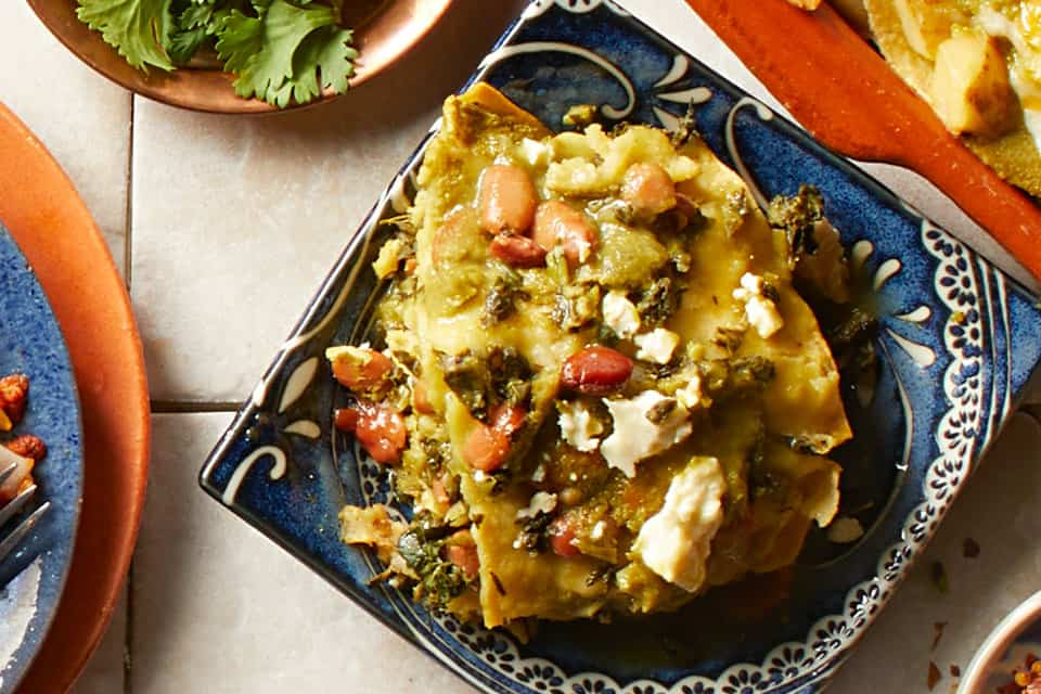 Beans and Greens Enchiladas for Healthy Winter Comfort Food: What to Cook (Jan 18)