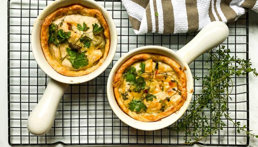 Easy Herb Chicken Pot Pie Recipe