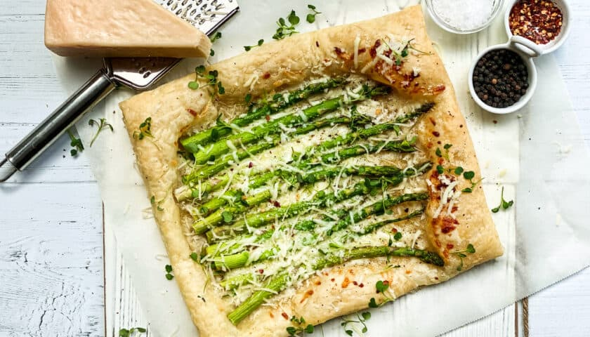 Asparagus Tart: Easy Brunch Recipe