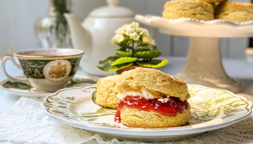 Traditional Irish Scones Recipe for Afternoon Tea