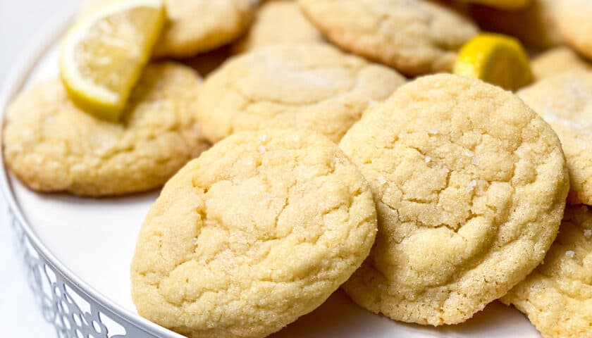 Lemon Cookies: Delicious Homemade Sugar Cookies!