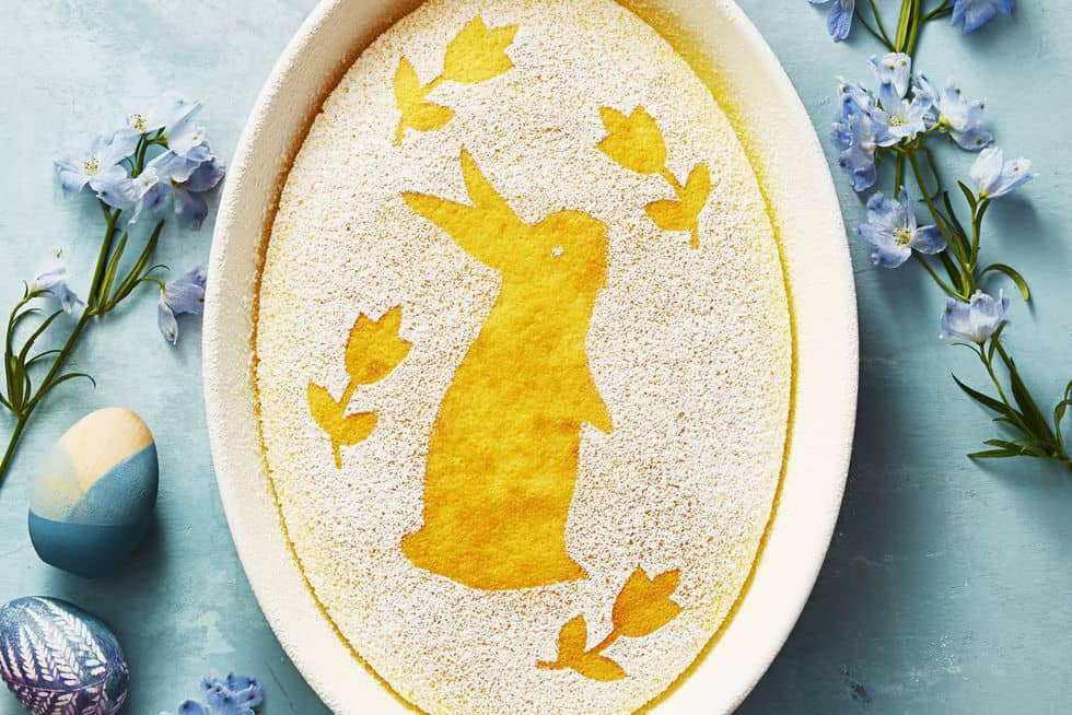 Easter Bunny Pudding for Easy Easter Desserts