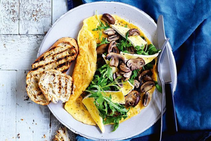 Mushroom Omelet for 5 Ingredient Spring Dinners: What to Cook (Mar 29)