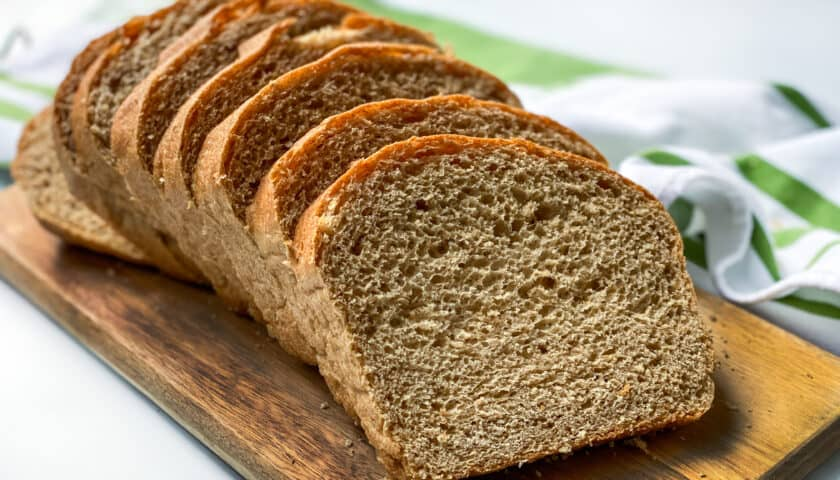 100% Whole Wheat Bread Recipe: Homemade and Delicious