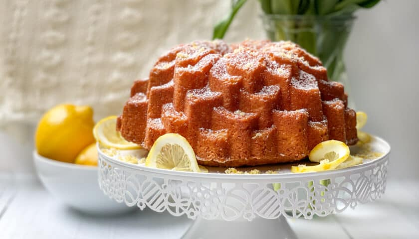 Lemon Pound Cake: Simple Bundt Cake Recipe