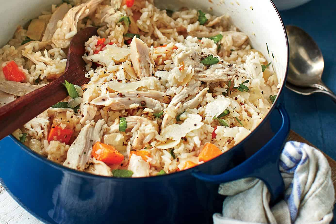 Chicken Bog for Spring One Pot Dinners