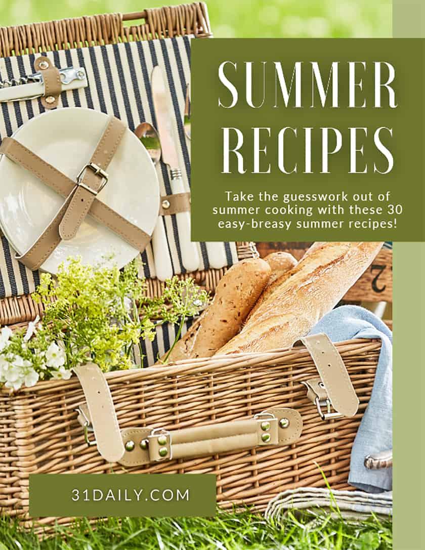 Summer Recipes eBook Cover