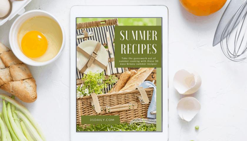 New Summer Recipes Ebook