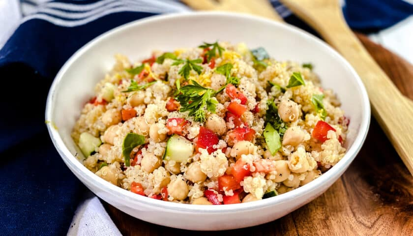 Quinoa Salad Recipe: Simple and So Easy!