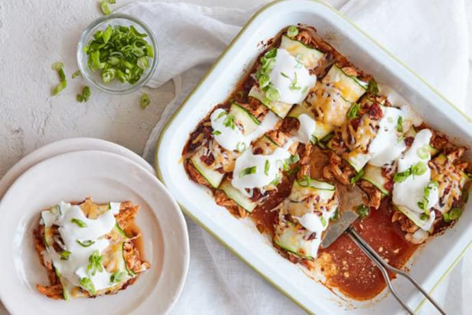 Zucchini Enchiladas for Healthy Mexican Dinner Week: What to Cook (May 3)