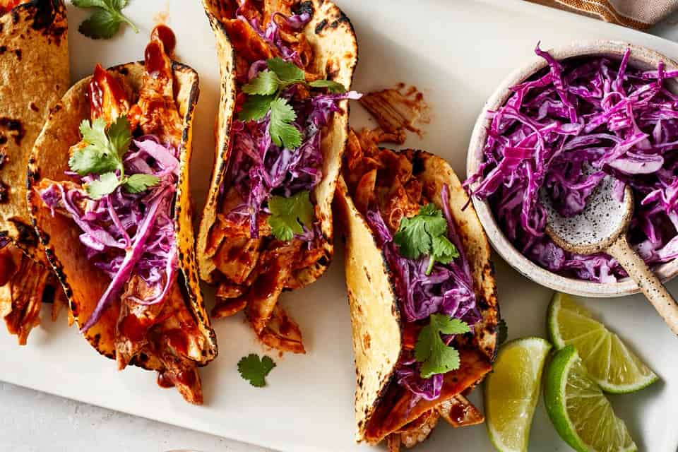 BBQ Chicken Tacos for Healthy 15 Minute Spring Dinners: What to Cook (May 24)