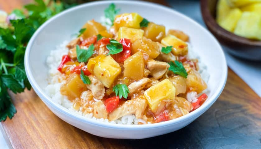 Simple Instant Pot Pineapple Chicken