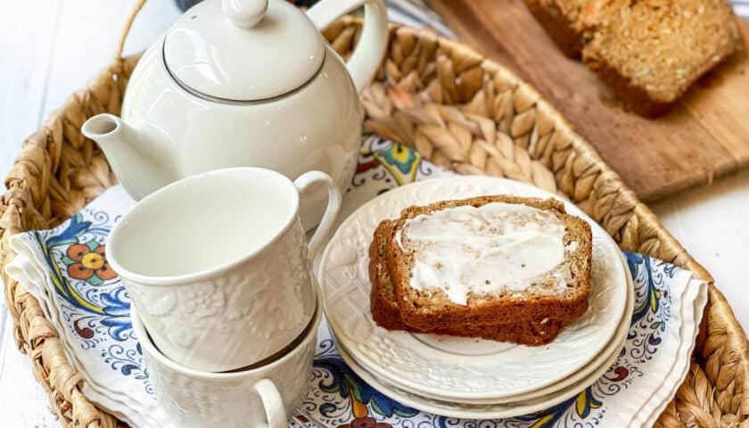 Healthy Whole Wheat Banana Oat Bread