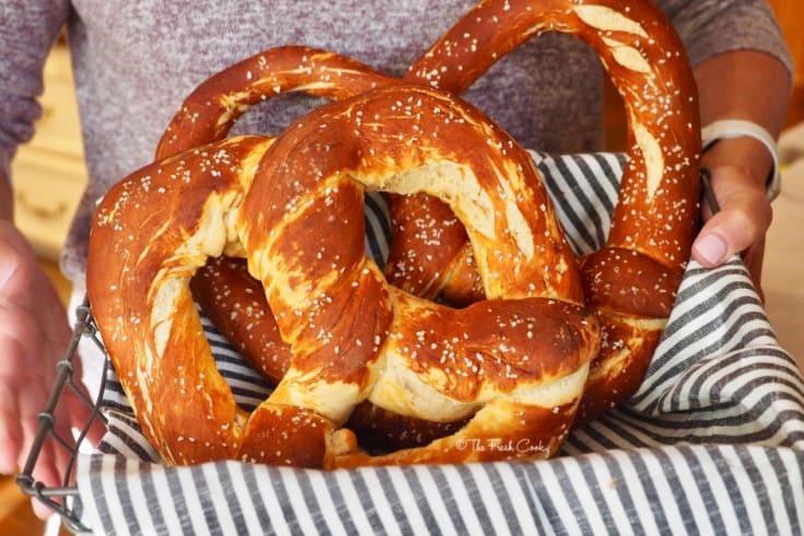 Bavarian Pretzels for Oktoberfest recipes