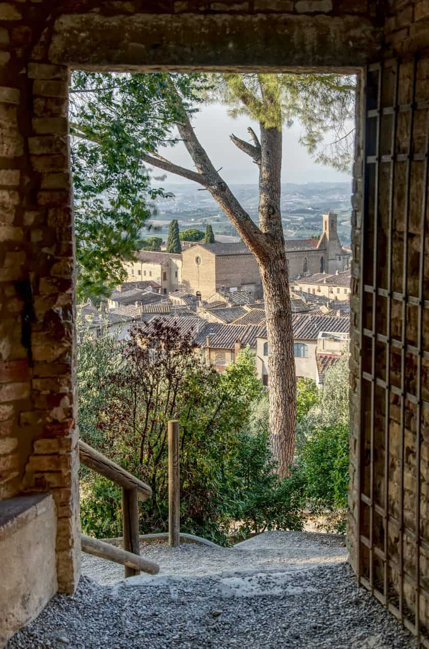 Province of Sienna in Tuscany, Italy