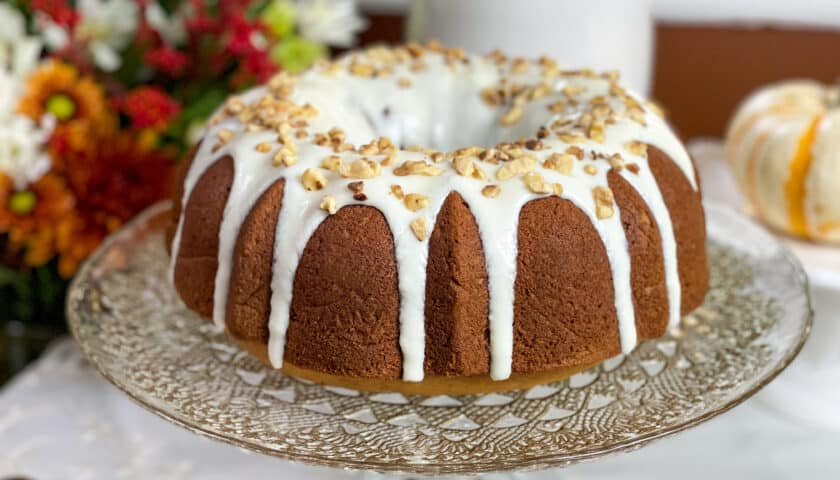 Pumpkin Bundt Cake: Easy Fall Cake